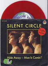"Silent Circle, Hide Away-Man is Comin'!, VG/EX 7"" Single 0872-3"