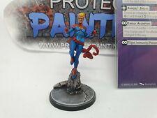 Marvel crise protocole Crossbones Miniature sur Coulée avec personnage de carte