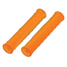 Bikeit Motorcycle Scooter Bike Lever Grip Handle Silicon Sleeves Cover Orange