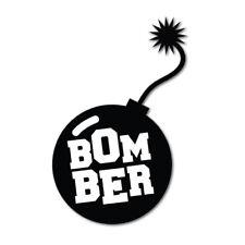BOMBER JDM Sticker Decal Drift Jap Car Drift Bomb Euro Fast Vinyl #1072K