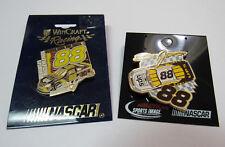 Dale Jarrett #88 UPS Nascar Car Racing 2 Hat Lapel Pins New Wincraft Sports