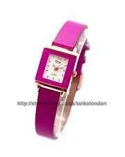 Omax Ladies Watch, Purple Dial & Strap, (Rose Gold) Seiko (Jpn) Movt. RRP £49.99