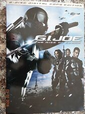 G.I. Joe: The Rise of Cobra (DVD, 2009, 2-Disc Set, Includes Digital Copy)
