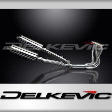 """Honda CB1100 Full Exhaust Stubby 14"""" Stainless Steel Oval Muffler 99 00 01 02 03"""