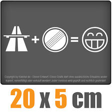 Autobahn Freak 20 x 5 cm JDM Decal Sticker Aufkleber Racing Die Cut