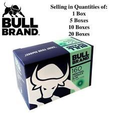 Bull Brand Menthol Capsule Crushball Flavoured Slim 6mm Filter Tips - Boxed