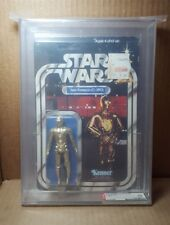1979 Kenner Star Wars 21 Back-B C-3PO AFA 70