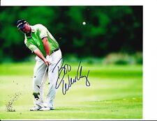 PGA STAR BOO WEEKLEY SIGNED 8X10