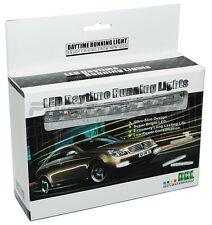 DRL 8x LED 9-16V Daytime Running Lights - 150lm 6000K White