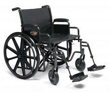 """Everest & Jennings Traveler HD Wheelchair 24""""x18""""  with Desk Arms"""