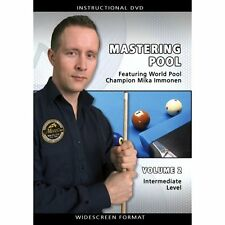 Mastering Pool Volume 2 - Mika Immonen - Billiards Training DVD