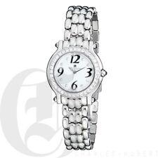 Charles Hubert Womens Stainless Steel Watch Swarovski Stones White Dial 6774