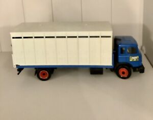 Britains Farm Truck Animal Transporter Wagon Magirus Deutz Iveco #9580 Lorry