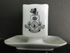 MOUNT ROYAL HOTEL Montreal Quebec Canada Limoge China Ash Tray Match Box Holder