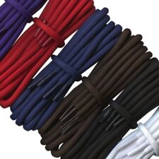 WFS Round Cord 5mm Cotton Strong Work Hiking Walking Boot Laces