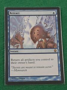 Retract (MTG, Magic the Gathering) Darksteel, DST, NM