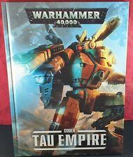 Warhammer 40,000 Codex Tau Empire Hardback VGC