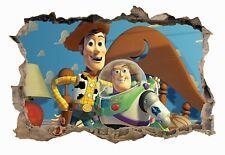 Toy Story,Sticker,Decal,3D,Bedroom,Kids,Wall Art,Mural