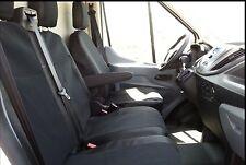 Sitzbezüge housses de protection set KA vw t5 transporteur tissu bleu