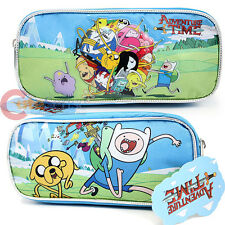 Adventure Time Pencil Case  Finn and Jake Group Pouch Bag - Ball Play