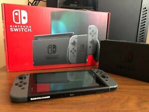 Nintendo Switch Console with Gray Joy‑Con