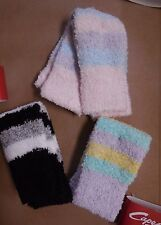 "NWT Capezio Girls 12"" Legwarmers 3 colors 10376C supersoft 3 stripe combo"