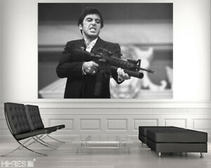 SCARFACE Movie POSTER PHOTO PAPER Scar03 Al Pacino Tony Montana 50x35 Wall Art