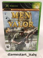 MEN OF VALOR - XBOX - VIDEOGIOCO NUOVO SIGILLATO - NEW SEALED PAL VERSION