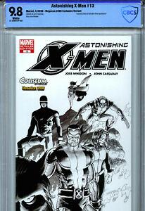 Astonishing X-Men #13 (2006) Marvel CBCS 9.8 White Megacon Sketch Variant