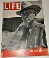 April 10, 1939 LIFE Magazine US History 1930s Advertising ads add FREE SHIP 4 9