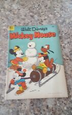 DELL COMICS  MICKEY MOUSE #29.VG-EXC.1953