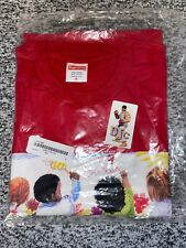 Supreme Kids Tee/ Red - Size Medium Brand New Deadstock