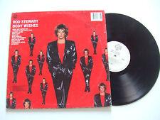 Rod Stewart – Body Wishes - Disco 33 Giri LP Album Vinile UK 1983 Pop Rock