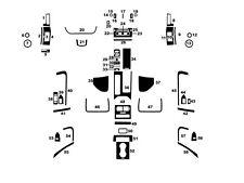NEW WoodGrain Auto Interior Dash Trim Kit for Land Rover Range Rover Sport 14-16
