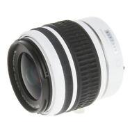 Pentax 18-55mm F/3.5-5.6 SMC DAL AL White K Mount AF Lens {52} - (UG)