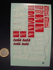 "DECALS 1/24  ""COCA-COLA"" -  T41"