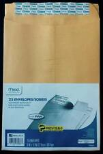 Mead Press-It Seal-It Envelopes, 9 x 12 Inch, Office Pack 50 Count (76086) New