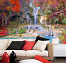 3D Waterfall Color Scenery 4 Paper Wall Print Wall Decal Wall Deco Indoor Murals