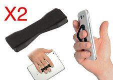 X2 Ring Grip Anti slip Mobile Phone Finger Holder Cell Phone Color Pink AH1