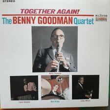 THE BENNY GOODMAN QUARTET:TOGETHER AGAIN!  (1963 Album) RCA Jazz CD ~ NEW
