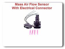 Mass Air Flow Sensor W / Connector Fit:Jaguar Lexus Mazda Pontiac Scion Toyota