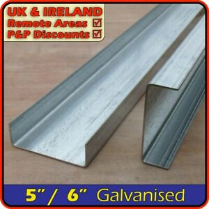 Galvanised Steel Channel║130mm150mm5x26x2║C section,U profile,runner