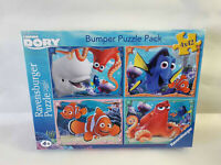 Ravensburger Finding Dory 4x 42 Piece Jigsaw Puzzles Bumper Pack