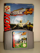 International Superstar Soccer 64 N64  Nintendo 64 avec notice