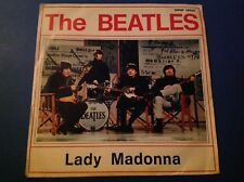 THE BEATLES LADY MADONNA Rare Italy Cover Only 1968 45 Nice Copy