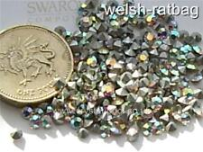 48 x Swarovski 12ss / 24pp Crystal AB silver-foiled #1100 chatons