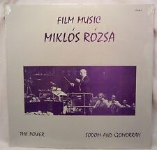 Miklos Rozsa THE POWER/SODOM AND GOMORRA Mint/Sealed Private Issue LP