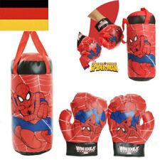 Kinder Spiderman Boxhandschuhe  Boxsack Hängend Boxset Ausbildung Boxen Geschenk