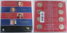USA Presidential 1$ Coin uncirculated Set 2015 / Präsidentendollar P und D 2015