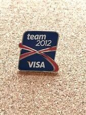 Insignia Pin 2012 Juegos Olímpicos de Londres visa - 3 Insignias-nuevo gastos de envío gratis
